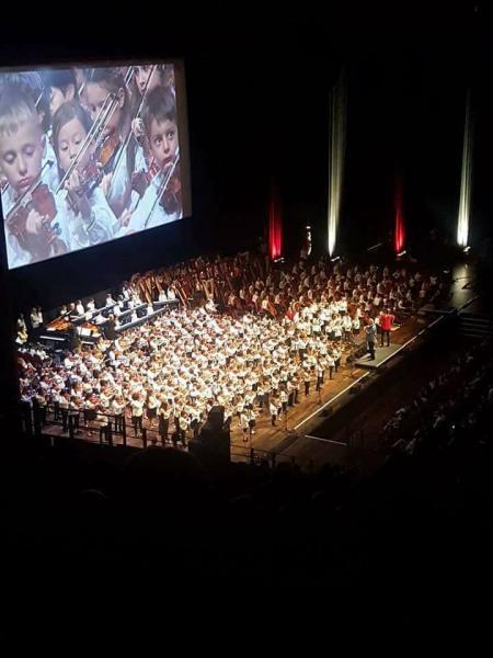 Concert national des 40ans de la pédagogie Suzuki en France