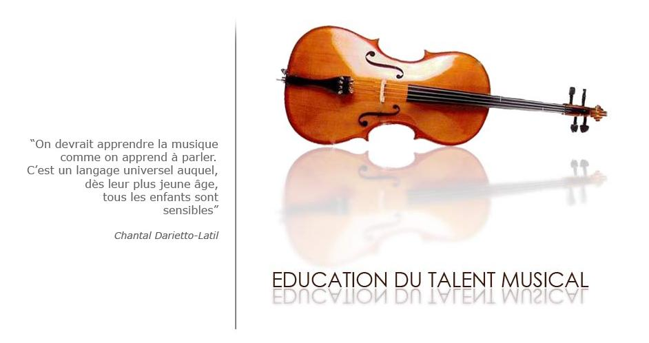 Education du Talent Violoncelle